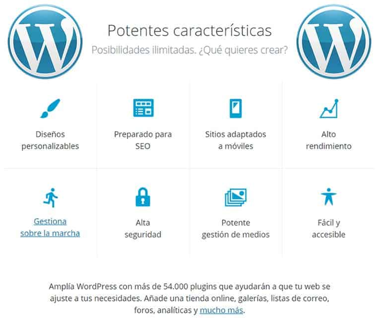 Beneficios de utilizar WordPress