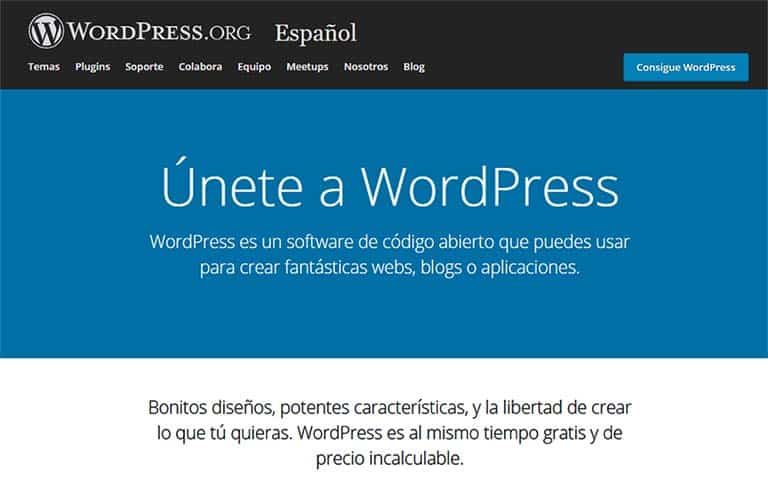 Crear tu web en WordPress gratis es posible