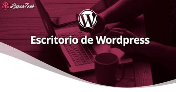 Escritorio de WordPress o Dashboard