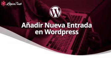 Añadir nueva entrada en WordPress