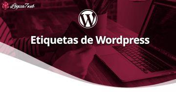 Añadir Etiquetas en WordPress