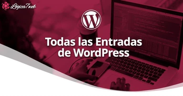 Todas las Entradas de WordPress