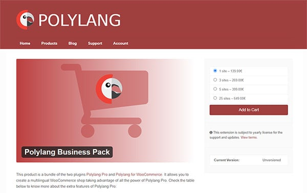 Polylang Business Pack
