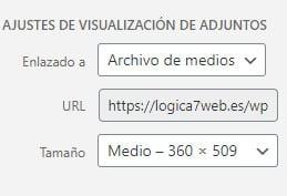 Insertar enlace HTML a archivos multimedia