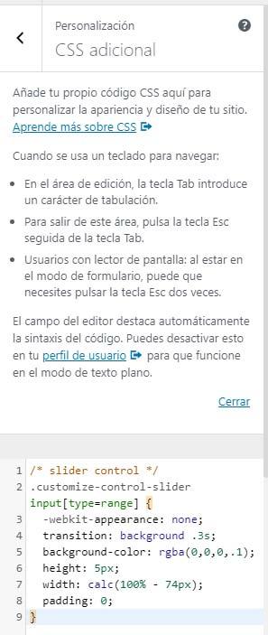 Agrega tu propio código CSS aquí para personalizar el diseño de tu sitio web