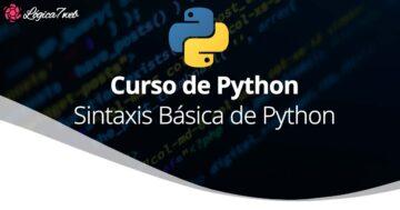 Sintaxis básica de Python